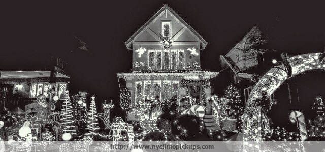 Dyker Heights Brooklyn Christmas Lights.Nyc Limousine The Dyker Heights Wonderland