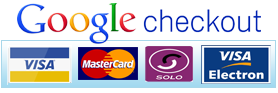 We accept Google CheckOut