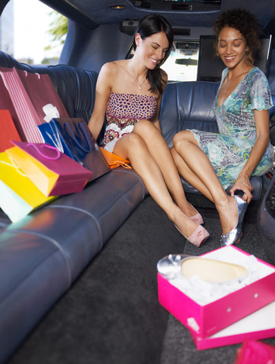 Limousine Shopping Tour